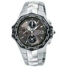 Seiko Men's Coutura World Timer Watch Model# SPL001