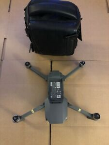 MINT Original DJI Mavic Pro Camera Quadcopter Drone ONLY W/ Carrying Bag!
