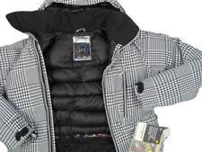 NEW Burton AK 2L LZ Down & Gore-Tex Jacket!  XS Black/White Gingham Extra Small