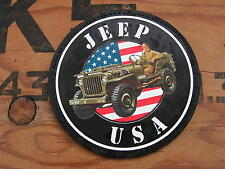 "SNAKE PATCH "" JEEP USA "" Willys FORD hotchkiss M201 US WW2 commémoration"