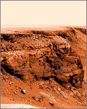 Photo: Mars Landscape: Victoria's Cape St. Vincent: Mars Rover Opportunity, 2007