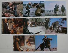 Yul Brynner Catlow set of 8 original British photos western