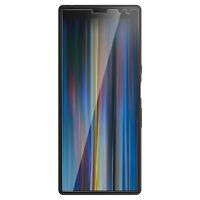 Folie Sony Xperia 10 Plus Hartglas Stoßfest Antitraces 4Smarts Übersichtlich
