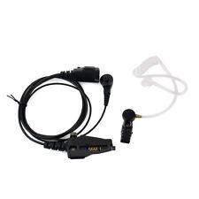Covert Acoustic Tube Earpiece MIC Headset for Kenwood TK2140 TK-285 Radio Best