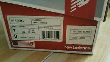 New Balance M1400NV 7.0D Navy Silver Mens Retro Running Shoes Made In USA