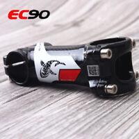 "EC90 MTB Road Bike Stem 60-120mm 1-1/8"" 3K Carbon+7050 Aluminum 135g Ultralight"