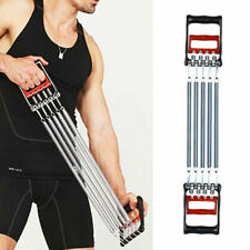 2 in 1 Fitness Chest Expander and Hand Gripper Exerciser Gear with 5 Spring Gift