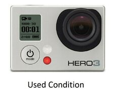 Used GoPro Hero 3 Silver 1080P 11Mp Hd Sport Action Camera Camcorder WiFi Usa