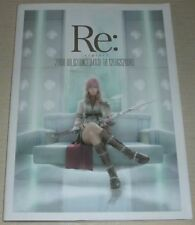 Re: riplai Guide Art Book w/DVD Final Fantasy XIII Kingdom Hearts