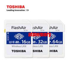 Toshiba 16GB 32GB 64GB Flashair W-04 Wi-Fi SD SDHC SDXC Wireless Card U3