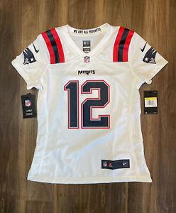 Nike NFL Tom Brady New England Patriots Replica Jersey 67NW-NPGR Women's Small