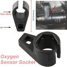 Universal Iron 6 Point Wrench Offset Black O2 Oxygen Sensor Socket Sensor Sleeve