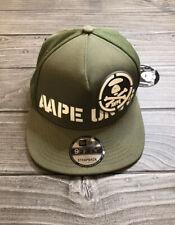 Men's Bape A Bathing Ape AAPE UNVS Strapback Baseball Cap