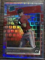 Josh Rojas Rc Rated Rookie HOLO Pandora 44/99 FOTL 2020 Donruss Optic