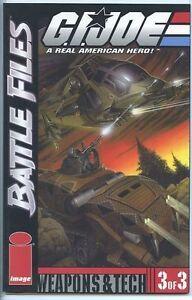 G.I. Joe Battle Files 2002 series # 3 near mint comic book