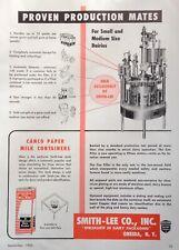 1953 AD(XE13)~SMITH-LEE CO. ONEIDA, NY.