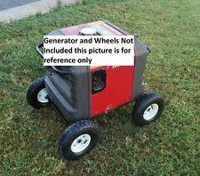 Honda Generator Wheel Kit Eu3000is All Terrain No Generator No Wheels