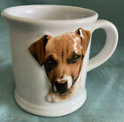 Vtg Jack Russell 3D Cup Mug Xpres Best Friends Originals 1999 Barbara Augello