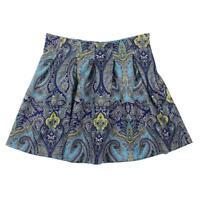 INC 2983 Womens Paisley A-Line Above Knee Pleated Skirt BHFO