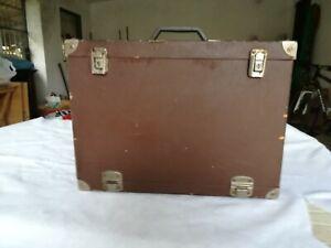 Valigia portagioielli/gioie Vintage anni 60 similpelle