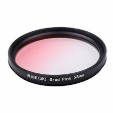 52mm Graduated Gradual Pink Color Special Effect Lens Filter for all Camera Lens