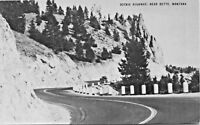 BUTTE MONTANA~SCENIC HIGHWAY-CONOCO OIL TOURAIDE POSTCARD