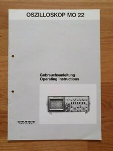 Grundig MO-22 Bedienungsanleitung owners manual original DE EN