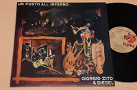 GIORGIO ZITO & DIESEL LP UN POSTO ALL'INFERNO ITALY PROG 1°ST ORIG 1978 TOP EX++