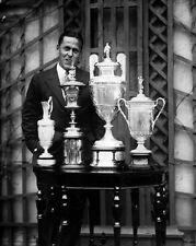 1930 Amateur Golfer BOBBY JONES Glossy 8x10 Photo Grand Slam Print Trophy Poster