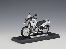1:18 Welly BMW F650GS Motorcycle Bike Model White New In Box