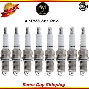 Platinum Spark Plugs AP3923 Set of 8 For 11/15 Audi S5 A8 Quattro 4.2L