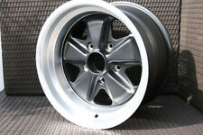 Porsche Fuchs 911 930 Wheel - NEW Replica TUV approved 15x9 ET15 Matte Black