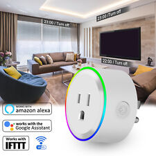 IFTTT WIFI Smart Power Socket Wireless Plug Outlet Works With Alexa Google Home