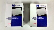 Lot of 2 Sentrol 5845 Wireless ShatterPro Acoustic Glassbreak Sensors