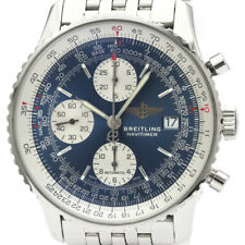 Polished BREITLING Old Navitimer Steel Automatic Mens Watch A13322 BF507252