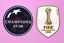 UEFA 07-08 Champion Winner & World Club 2008 Champion Manchester United Patch