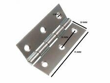 Cerniera Cancello bbzp acciaio zincato 75mm 7.6cm + VITI 3 paia