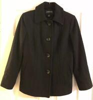 Ladies London Fog Coat Black