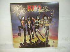 KISS SIGNED LP DESTROYER 1976 GENE SIMMONS PAUL STANLEY