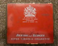 Benson and Hedges Vintage Empty Cigarette Tin