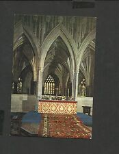 J.Arthur.Dixon Colour Postcard High Alter Wells Cathedral   Somerset Unposted