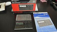 SHARP Pocket Computer PC - 1246S mit OVP und Buch FUNKTIONIERT ZUSTAND SEHR GUT