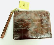 Patricia Nash Cassini Italian Leather Rust with Map for Women (Unwrapped) -N13