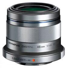 Olympus M. Zuiko Digital 45 mm 1:1 Lentes .8 - Plateado
