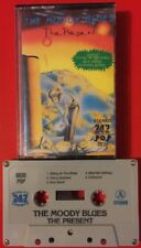 THE MOODY BLUES THE PRESENT CASSETTE TAPE RARE IMPORT 747 LABEL