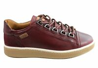 NEW PIKOLINOS WOMENS W8V-6768C1 COMFORTABLE LEATHER LACE UP SHOES