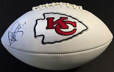 Alex Smith Kansas City Chiefs JSA COA SIGNED LOGO FOOTBALL FULL SIZE AUTOGRAPHED