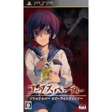 Used PSP Corpse Party Blood Covered Repeated Fear SONY PLAYSTATION JAPAN IMPORT
