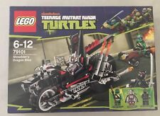 Lego TMNT 79101 SHREDDER'S DRAGON BIKE Teenage Mutant Ninja Turtles NEW SEALED