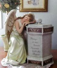 Memorial Cremation Urn Mourning Angel 12 inch Always In our Hearts Pet Person